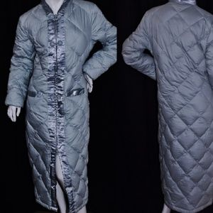 New Cuddledown Long Quilted Oriental Down Coat